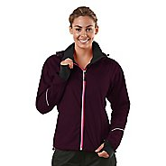 Womens R-Gear In Your Element Rain Outerwear Jackets - Mulberry Madness XS