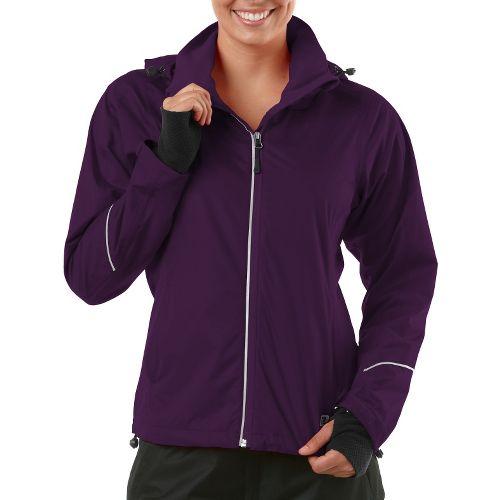 Womens R-Gear In Your Element Rain Outerwear Jackets - Plum Pop S