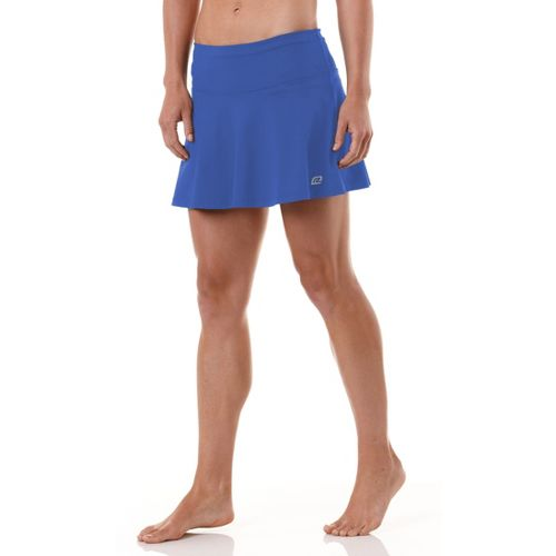 Womens ROAD RUNNER SPORTS Flutter By Skort Fitness Skirts - Oceanic XL