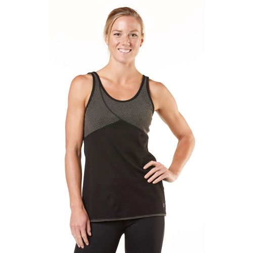 Womens R-Gear Change of Heart Tank Technical Tops - Black/Stripe M