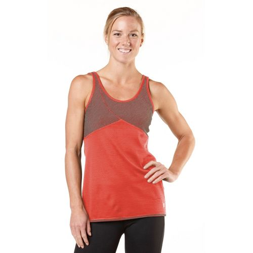 Womens R-Gear Change of Heart Tank Technical Tops - Just Peachy/Stripe XL
