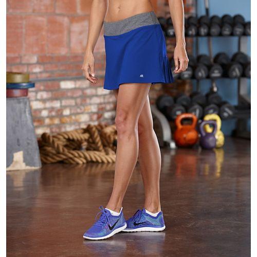 Womens R-Gear School 'Em Skort Fitness Skirts - Pacific Blue M