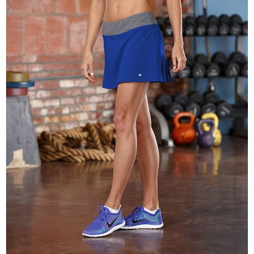 Womens R-Gear School 'Em Skort Fitness Skirts - Pacific Blue XL