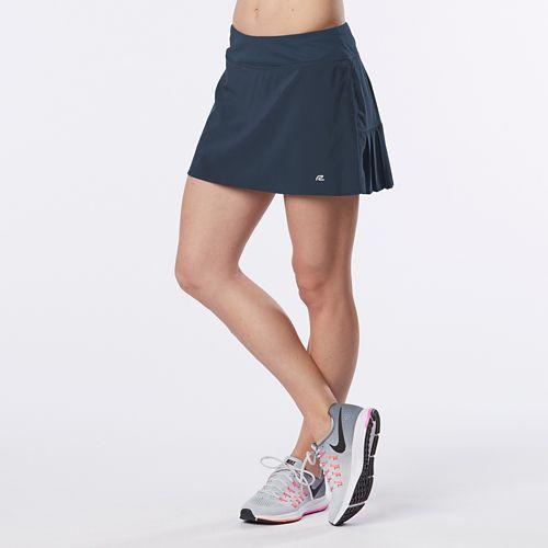 Womens R-Gear School 'Em Skort Fitness Skirts - Storm Blue M