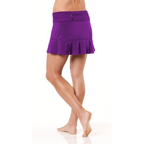 Womens ROAD RUNNER SPORTS School 'Em Skort Fitness Skirts - Plum Crazy XS