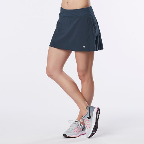 Womens R-Gear School 'Em Skort Fitness Skirts - Pacific Blue S