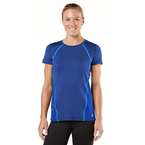 Womens R-Gear Keep Your Cool Short Sleeve Technical Tops - Bright Iris/Wave Blue XS