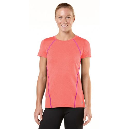 Womens R-Gear Keep Your Cool Short Sleeve Technical Tops - Just Peachy/Pink Berry XL