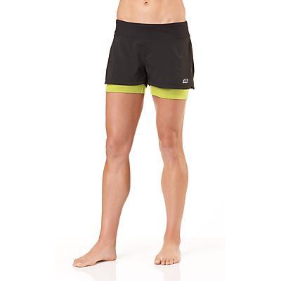 """Womens R-Gear Sneak-a-Peek 4"""" 2-in-1 Shorts"""