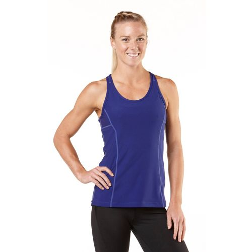 Womens R-Gear Silver Lining Singlet Technical Tops - Bright Iris XS