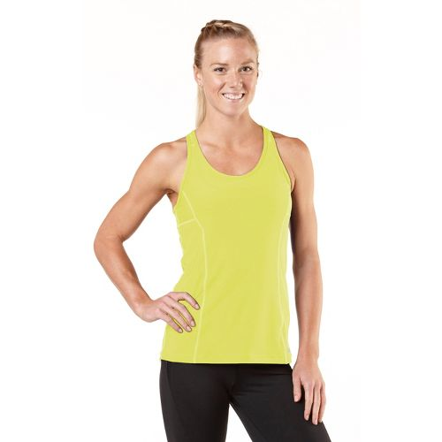 Womens R-Gear Silver Lining Singlet Technical Tops - Citron L