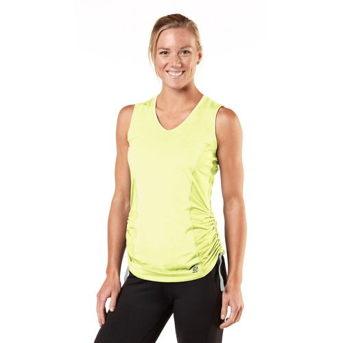 Womens R-Gear Silver Lining Sleeveless Technical Tops - Citron S