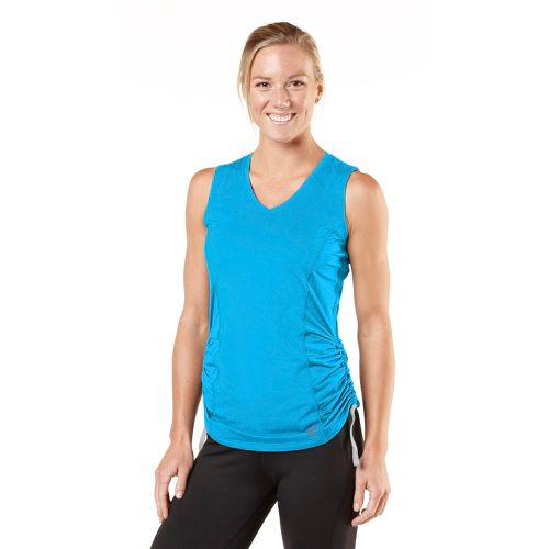 Womens R-Gear Silver Lining Sleeveless Technical Tops - Wave Blue L