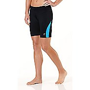 "Womens R-Gear Silver Lining 6"" Compression Fitted Shorts"