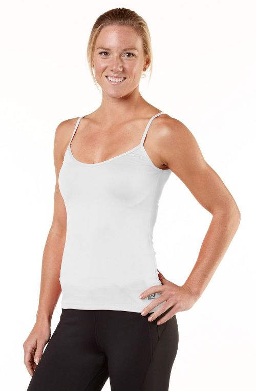 Womens R-Gear About Face Cami Tanks Technical Tops - White M