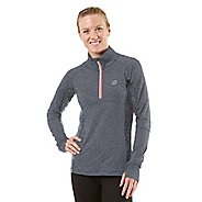 Womens R-Gear Just a Pretty Lace Long Sleeve 1/2 Zip Technical Tops