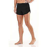 Womens R-Gear Get Lacy Reversible Fitted Shorts - Black/Black M