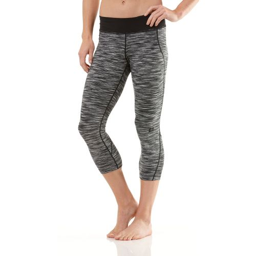 Womens R-Gear Run Out Loud Tight Capri Pants - Charcoal M