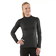 Womens R-Gear Your Second Skin Mock Long Sleeve No Zip Technical Tops