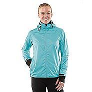 Womens R-Gear Taken By Storm Rain Outerwear Jackets - Heather Sea Breeze XS