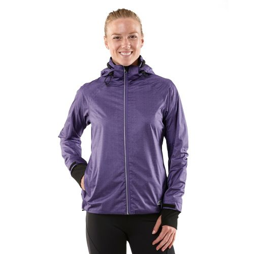 Womens R-Gear Taken By Storm Rain Outerwear Jackets - Love-Me Lavender XS