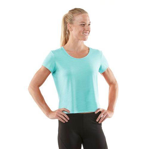 Womens R-Gear Your Fine Print Short Sleeve Technical Tops - Aqua Splash XS
