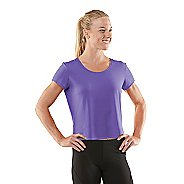 Womens R-Gear Your Fine Print Short Sleeve Technical Tops - Love-Me Lavender M