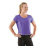 Womens R-Gear Your Fine Print Short Sleeve Technical Tops - Aqua Splash L