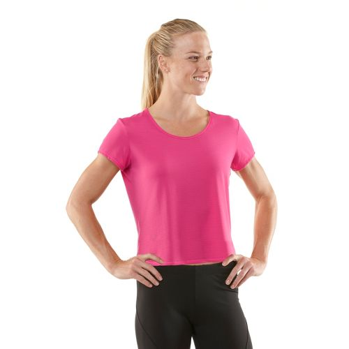 Womens R-Gear Your Fine Print Short Sleeve Technical Tops - Passion Punch XS