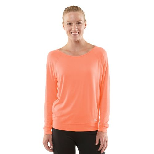 Womens ROAD RUNNER SPORTS Your Fine Print Long Sleeve No Zip Technical Tops - Just ...