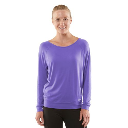 Womens ROAD RUNNER SPORTS Your Fine Print Long Sleeve No Zip Technical Tops - Love-Me ...