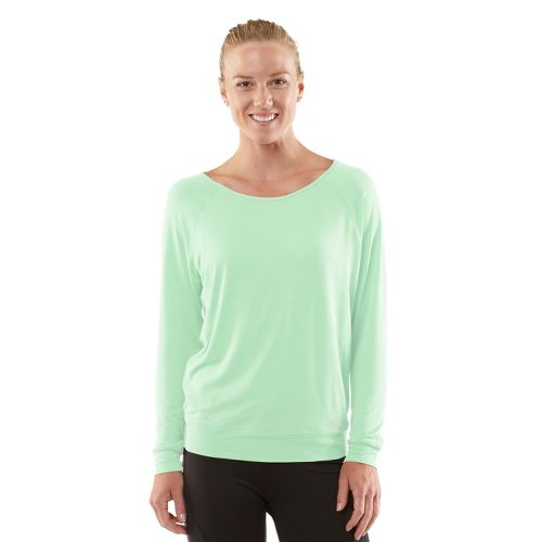 Womens ROAD RUNNER SPORTS Your Fine Print Long Sleeve No Zip Technical Tops - Mintify ...