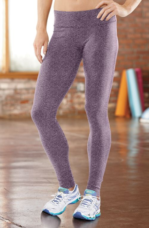 Womens R-Gear Leg Up Legging Full Length Pants - Heather Mulberry Madness L