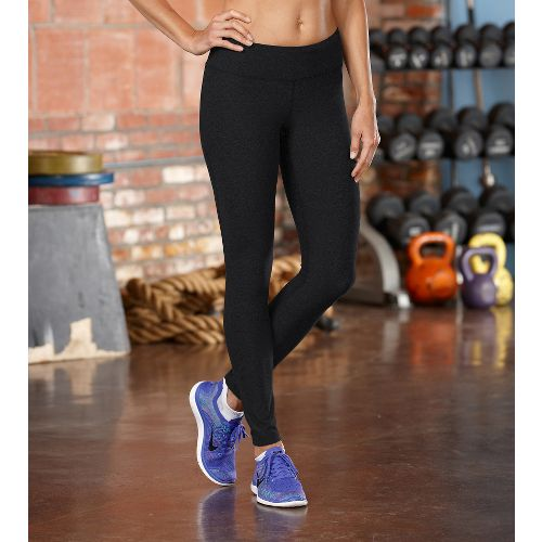 Womens ROAD RUNNER SPORTS Leg Up Legging Full Length Pants - Black XS