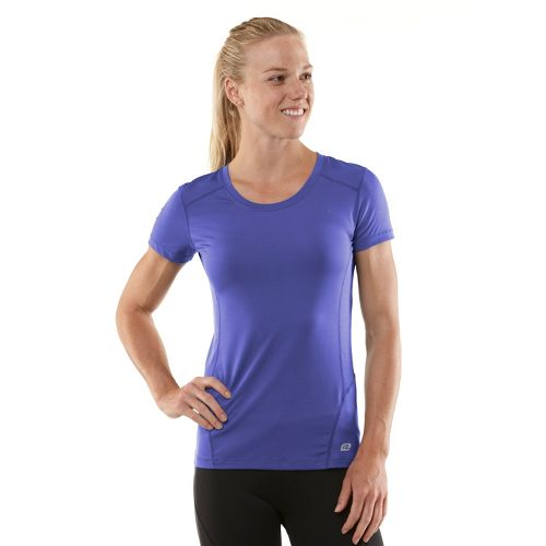 Womens R-Gear Runner's High Short Sleeve Technical Tops - Love-Me Lavender/Passion Punch XS