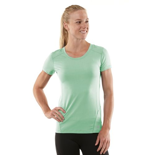 Womens R-Gear Runner's High Short Sleeve Technical Tops - Mintify/Just Peachy M