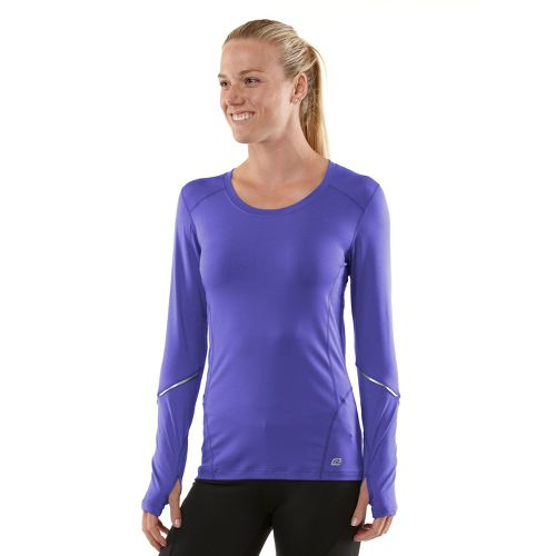 Womens R-Gear Runner's High Long Sleeve No Zip Technical Tops - Love-Me Lavender/Passion Punch ...