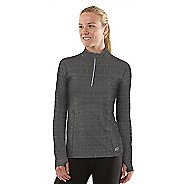 Womens R-Gear On The Run Printed Long Sleeve 1/2 Zip Technical Tops