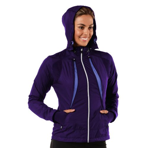 Womens R-Gear Zip To It Running Jackets - Plum Pop/Love-Me Lavender L