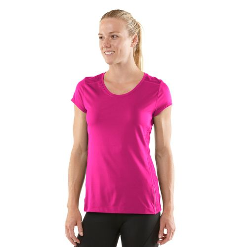 Womens R-Gear Amaze In Lace Short Sleeve Technical Tops - Passion Punch L