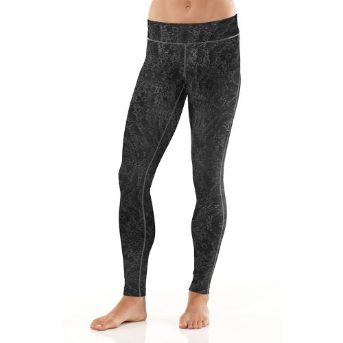 Womens R-Gear Lacework Fitted Tights - Heather Charcoal L