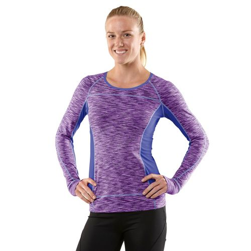 Womens R-Gear Set The Tone Long Sleeve No Zip Technical Tops - Plum Pop S ...