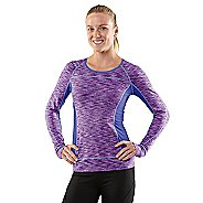 Womens R-Gear Set The Tone Long Sleeve No Zip Technical Tops