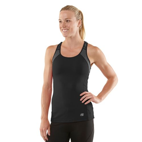 Womens R-Gear Breathe Deep Bra Tank Technical Tops - Black XS