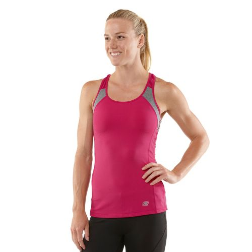Womens R-Gear Breathe Deep Bra Tank Technical Tops - Passion Punch L