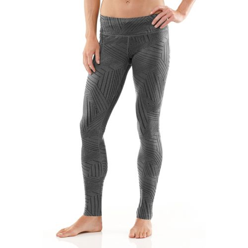 Womens R-Gear Make It A Pattern Fitted Tights - Heather Charcoal S