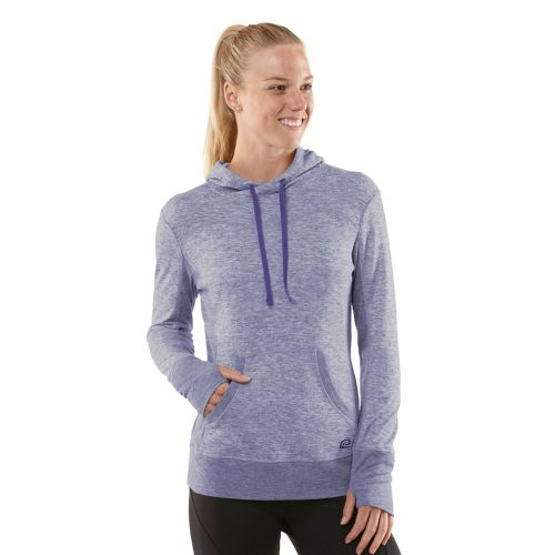 Womens R-Gear Just Blend In Wool Hoodie Long Sleeve No Zip Technical Tops - Heather Love-Me ...