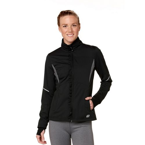 Womens R-Gear Blown Away Outerwear Jackets - Black XL