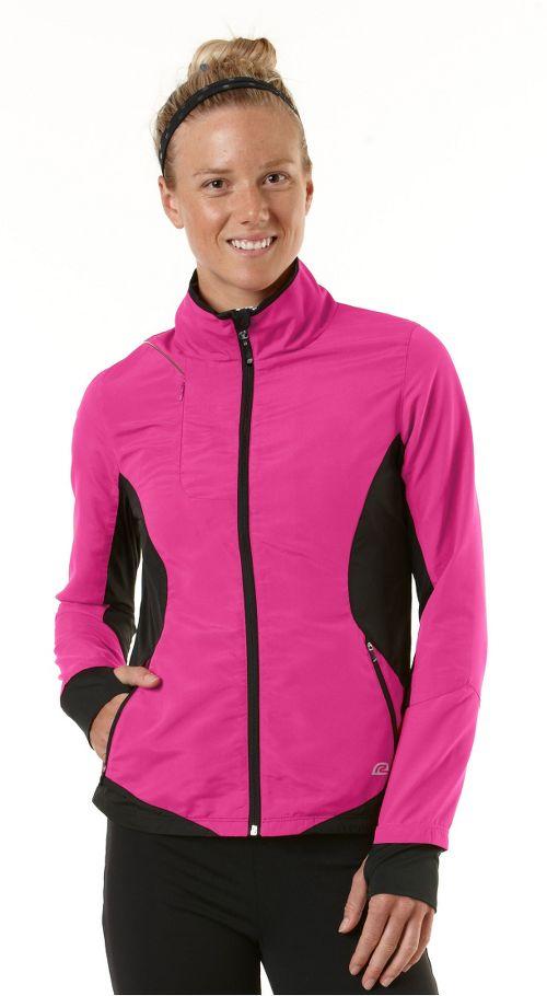 Womens R-Gear Night Watch Outerwear Jackets - Pulse Pink/Black M