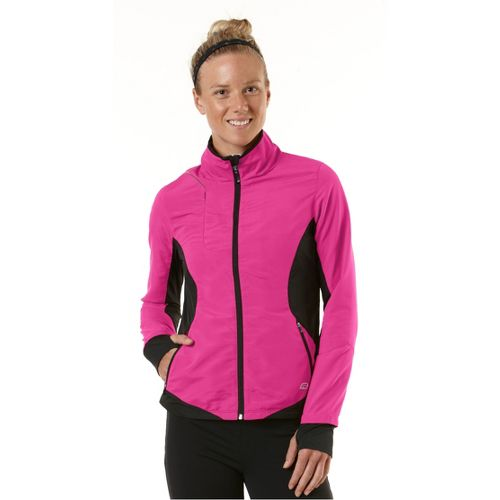 Womens R-Gear Night Watch Outerwear Jackets - Pulse Pink/Black XL